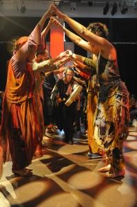 Karen Jamieson Dance - CONNECT in progress Oct 2012 - Bridge - photo credit Chris Randle