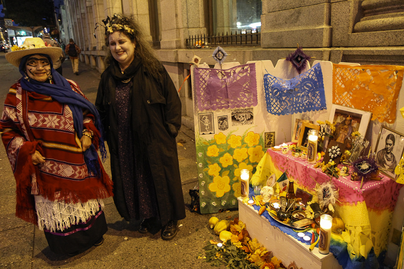 Shrine on Hastings 2 - Isabel and Diane '12 - photo Tom Quirk