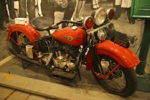 Vancouver Police Museum - Motor bike VPD