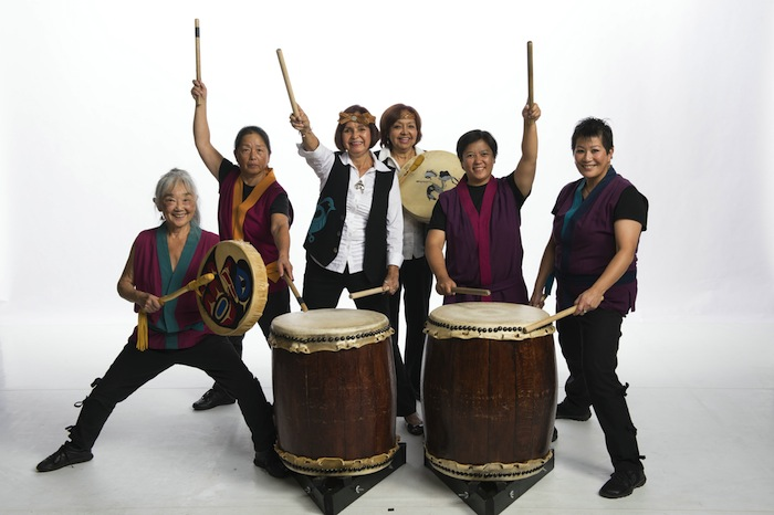 Sawagi Taiko & Tzokam - photo David Cooper