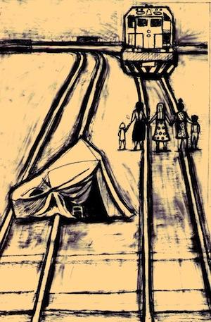 sketch by Atty Gell