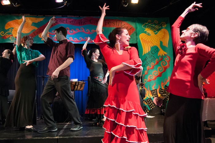 Barrio Flamenco (1), pro and community, Heart Festival 2013, Mark Montgomery photo