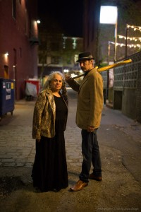 Nov 14 - Dalannah and Owen - in the street