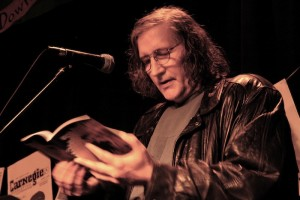 Bud Osborn at Poetry night